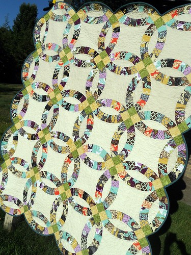 Double Wedding Ring Quilt | by sewcraftyjess