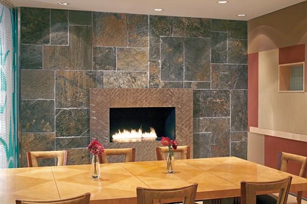 Revestimientos de interior con piedra ambiente natural en flickr - Revestimientos de paredes imitacion piedra ...