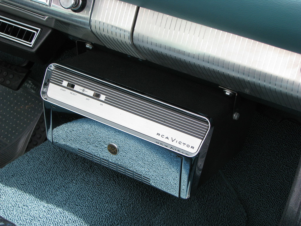 1960 Plymouth Fury Record Player An Optional Rca Victor