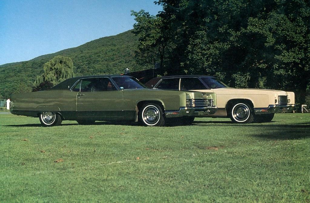 1970 lincoln continental coupe and 1971 sedan coconv. Black Bedroom Furniture Sets. Home Design Ideas