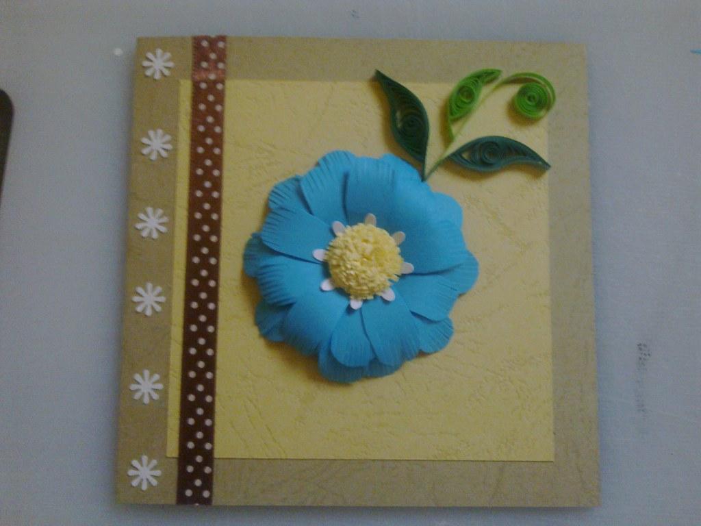 Paper Quilling Greeting Card Ruvini De Silva Sri Lanka R Flickr