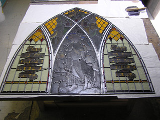 Restoration-St.Bedes | by Northern Art Glass