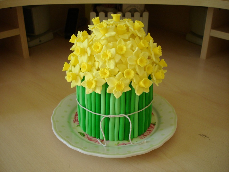 Daffodil Cake Picture Of A Cake I Made In 2008 As A