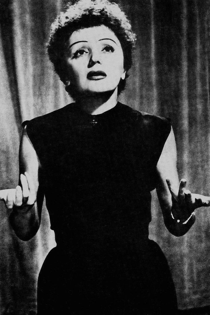 Edith Piaf Singing Edith Piaf by Truus