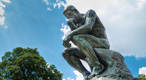 The Thinker | by Mustang Joe