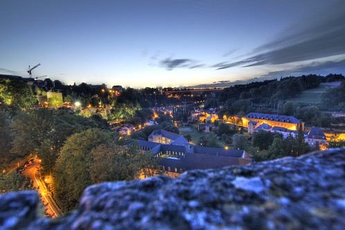 Luxembourg by Night | by Adon Buckley