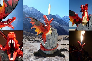 Firestorm - The fire breathing Lego dragon | by akama1_lego