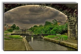 STORMY SKY LEEDS LIVERPOOL CANAL | by Shaun's Photographic World.
