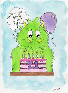 Grumpus 21st birthday message | by crpitt