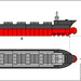 "Bulk Carrier M/V ""LOU"" (G.A. plan)"
