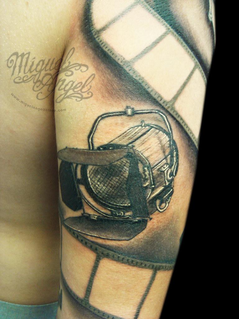 custom sleeve film tattoo detail miguel angel custom tat flickr. Black Bedroom Furniture Sets. Home Design Ideas