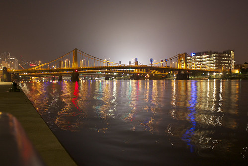 Looking West on the Allegheny River | by Tyler A. P. Moody