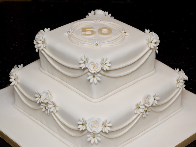 50th Wedding Anniversary Cake Explore Mrs Macs Creative