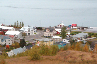 Part of the old town of Akureyri, Iceland | by rikardur>bergstad