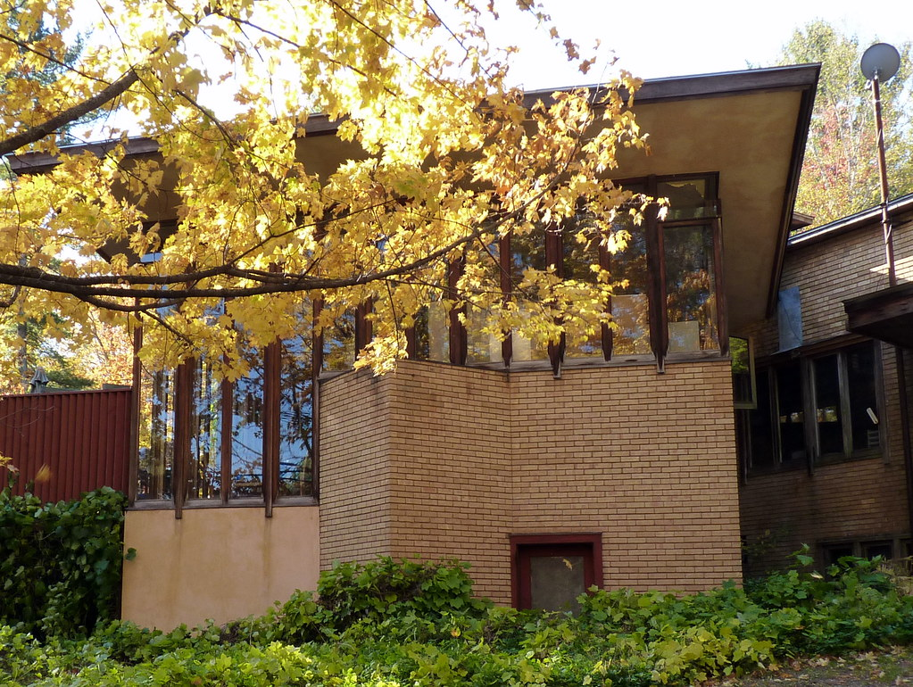 Frank Lloyd Wright's Abby Beecher Roberts house ...