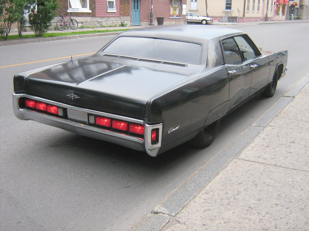 1970 Lincoln Continental | with 1973 tail lights. | Flickr