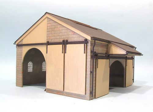 Goods Shed Goods Shed Built From A Ratio Kit Read More