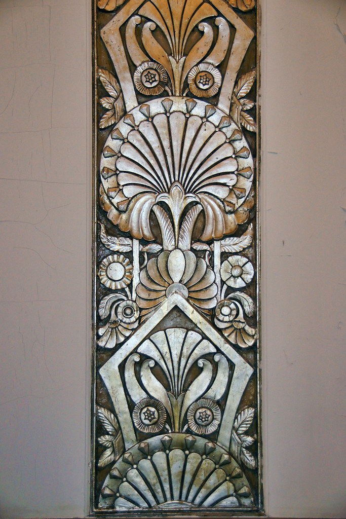 ohc chicago motor club deco art deco ornament in the lobby flickr. Black Bedroom Furniture Sets. Home Design Ideas