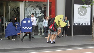 Pac-man on Lonsdale St | by Daniel Bowen