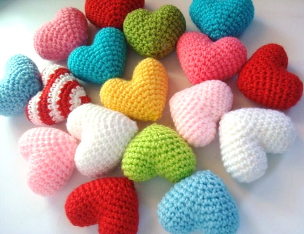 Amigurumi Hearts Designed & handmade by AllSoCute ...