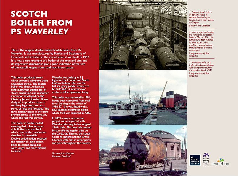 Scotch Boiler from PS Waverley | This is the original double… | Flickr