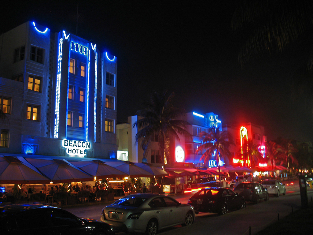 ... Miami Beach, Florida at Night | by DecoJim