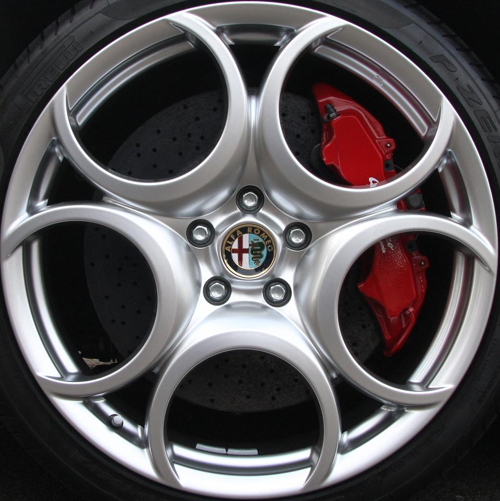 Alfa Romeo 8c Wheel Brian Snelson Flickr