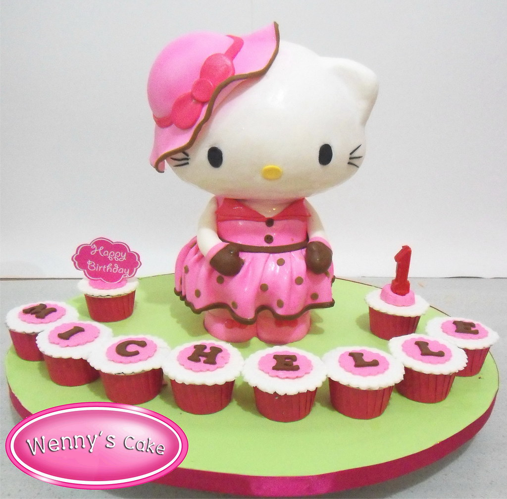 Hello Kitty 3d Cakes Jazz Wenny S Cake Flickr