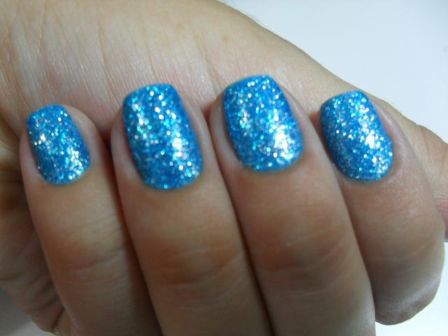 Light Blue Glitter Nail Polish   jordan23queen   Flickr