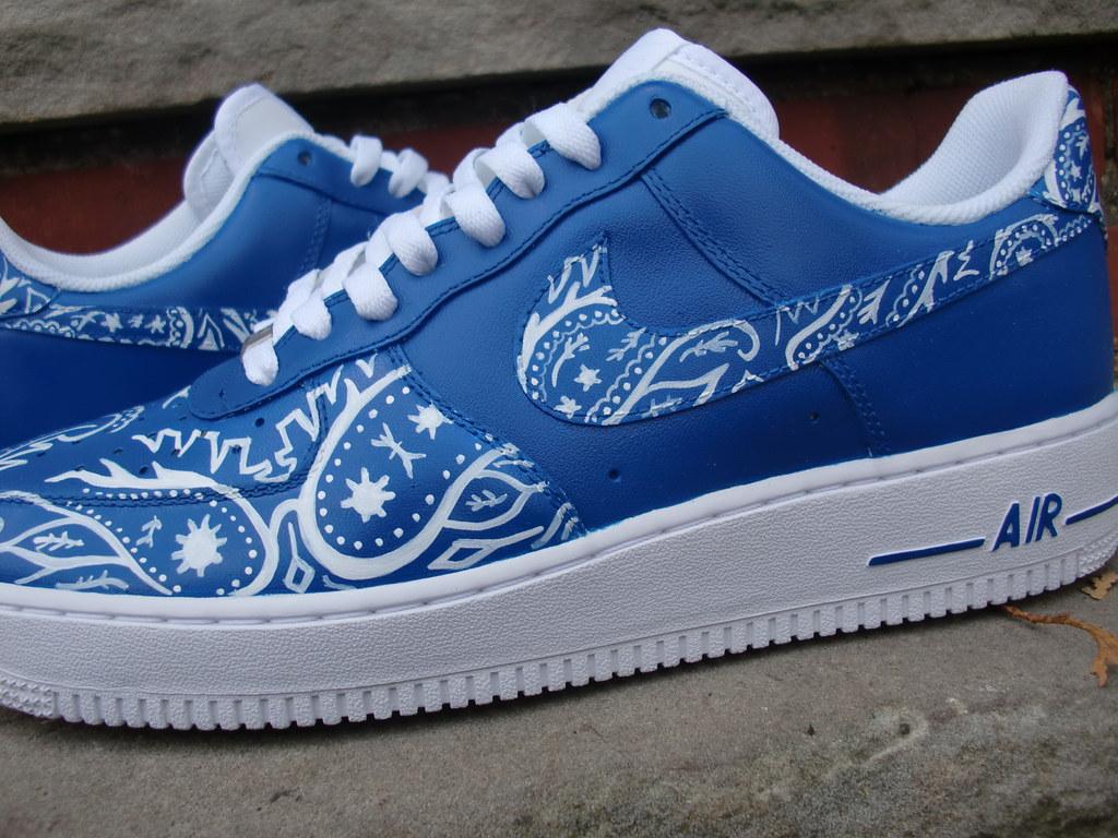 Blue Crip Shoes