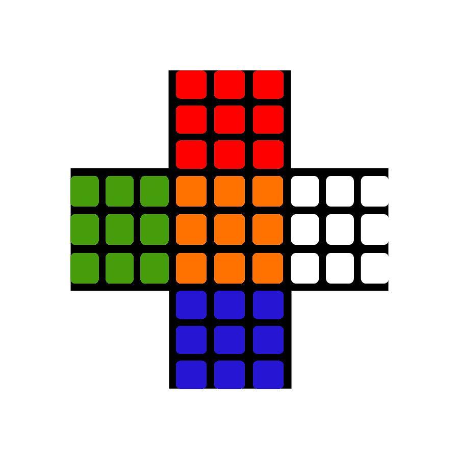 paper rubik s cube template