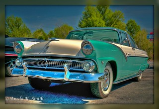 Kay's 55 Ford Fairlane (Explored Mar 28th, 2012) | by AKS1020