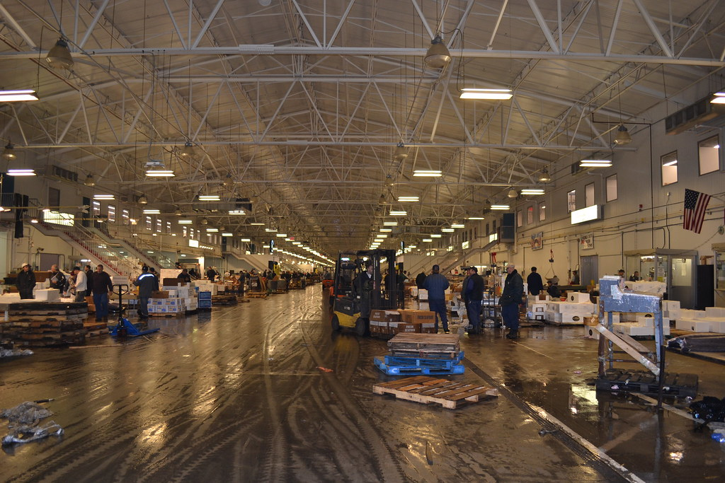 Hunts point new fulton fish market flickr for Fulton fish market online