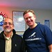Bob Sprankle and Wes Fryer at the Maine Diner in Wells