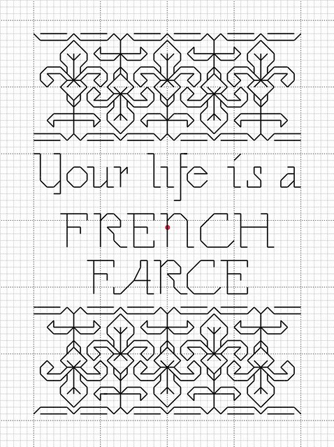 French farce pattern flickr photo sharing for French farce