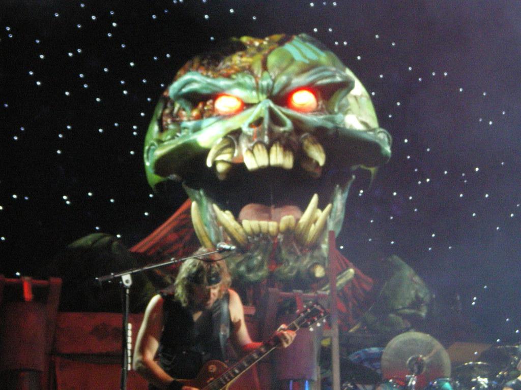Gelredome Iron Maiden Iron Maiden Big Eddie