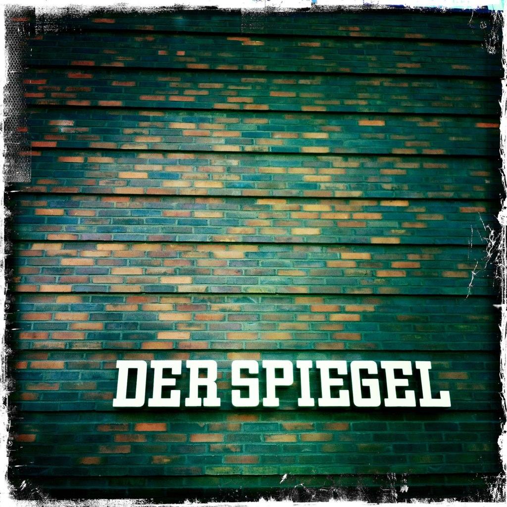 Der spiegel hamburg germany hamburg das logo von der for Der spiegel logo