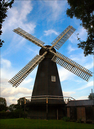 stelling minnis windmill a grade 1 listed wooden smock