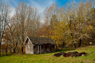 Old Barn and Rotting Logs | by Sigurd R