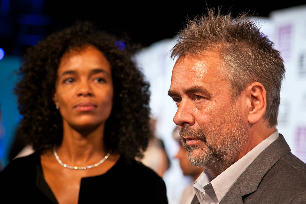 Virginie Besson-Silla Luc Besson with Virginie BessonSilla The director arrives Flickr