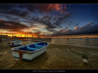 47.2011 - Boat - Poole - Sandbanks - UK - Sunset | by Pawel Tomaszewicz