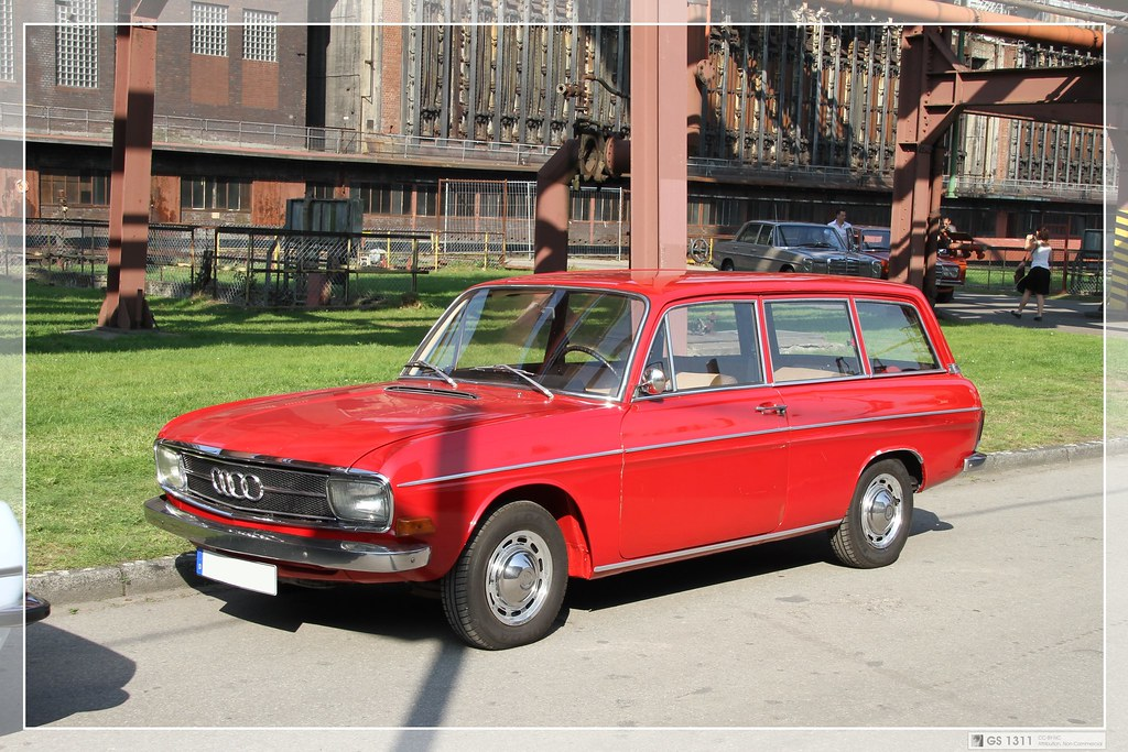 1969 1972 Audi F103 75 Variant 02 F103 Is The