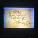 "Unique ""a"" in handwriting of Jimmi Hendrix (autograph)"