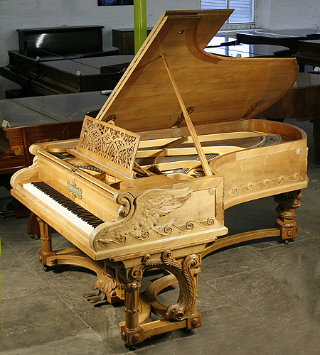 An 1895 Bechstein Model C Grand Piano With Intricate Carv
