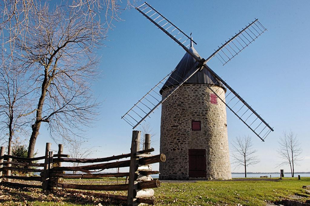 moulin de l 39 ile perrot windmill en 1705 joseph trottier flickr. Black Bedroom Furniture Sets. Home Design Ideas