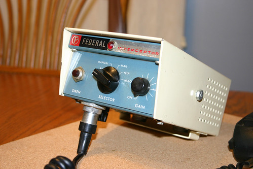 Federal Signal Pa20a 2e Quot Interceptor Quot This Is My Vintage