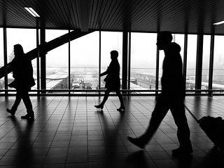 airport silhouettes | by Fokko Muller