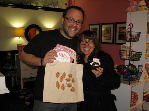 Me and Chris from Sugarush a Sweet Experience, Red Bank, NJ | by cakespy