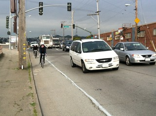 Cesar Chaves East separated bikeway takes shape | by sfbike