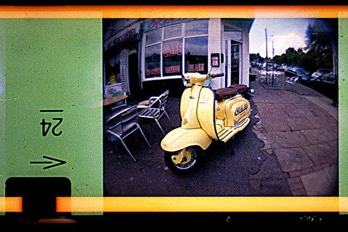 yellow scooter | by pho-Tony